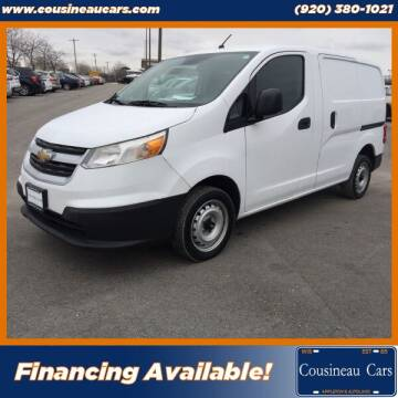 2017 Chevrolet City Express Cargo for sale at CousineauCars.com in Appleton WI