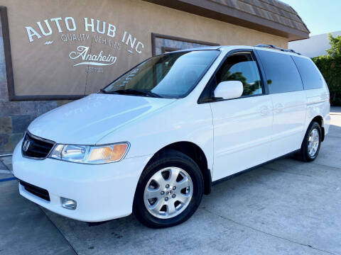 2003 Honda Odyssey for sale at Auto Hub, Inc. in Anaheim CA