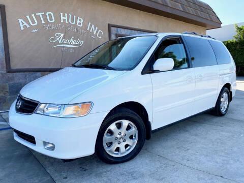 2003 Honda Odyssey for sale at Auto Hub, Inc. in Anaheim CA