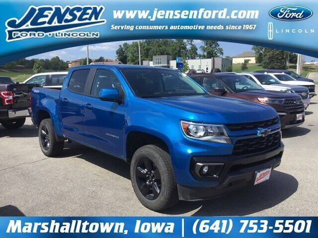 2021 Chevrolet Colorado for sale at JENSEN FORD LINCOLN MERCURY in Marshalltown IA