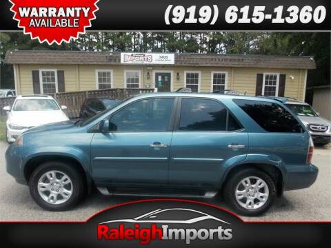 2005 Acura MDX for sale at Raleigh Imports in Raleigh NC