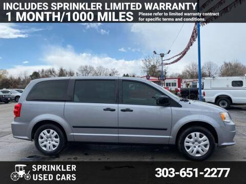 2014 Dodge Grand Caravan for sale at Sprinkler Used Cars in Longmont CO