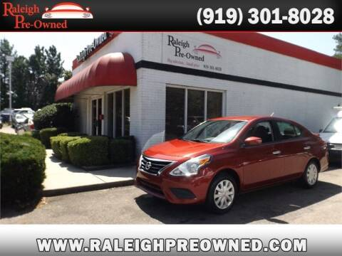 2019 Nissan Versa for sale at Raleigh Pre-Owned in Raleigh NC