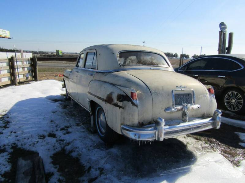 1949 Desoto CUSTOM for sale at Hill Top Sales in Brenham TX