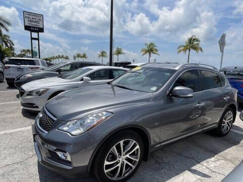 2017 Infiniti QX50 for sale at Niles Sales and Service in Key West FL