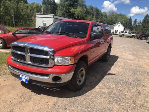 2005 Dodge Ram Pickup 1500 for sale at Al's Auto Inc. in Bruce Crossing MI