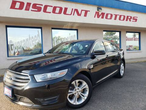 2014 Ford Taurus for sale at Discount Motors in Pueblo CO