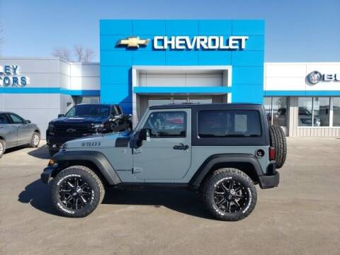2015 Jeep Wrangler for sale at Finley Motors in Finley ND