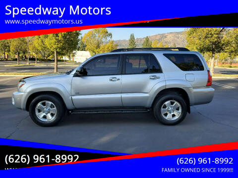 2008 Toyota 4Runner for sale at Speedway Motors in Glendora CA
