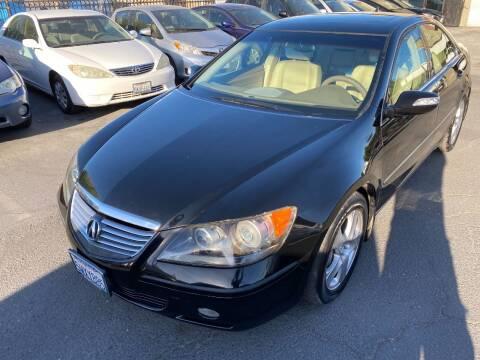 2006 Acura RL for sale at 101 Auto Sales in Sacramento CA