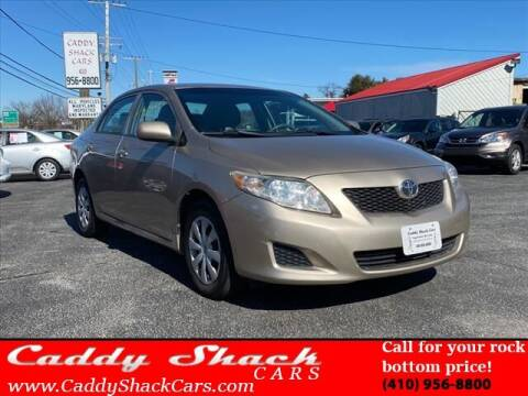 2010 Toyota Corolla for sale at CADDY SHACK CARS in Edgewater MD