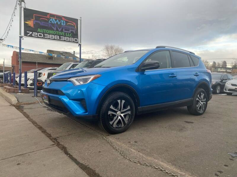 2018 Toyota RAV4 for sale at AWD Denver Automotive LLC in Englewood CO