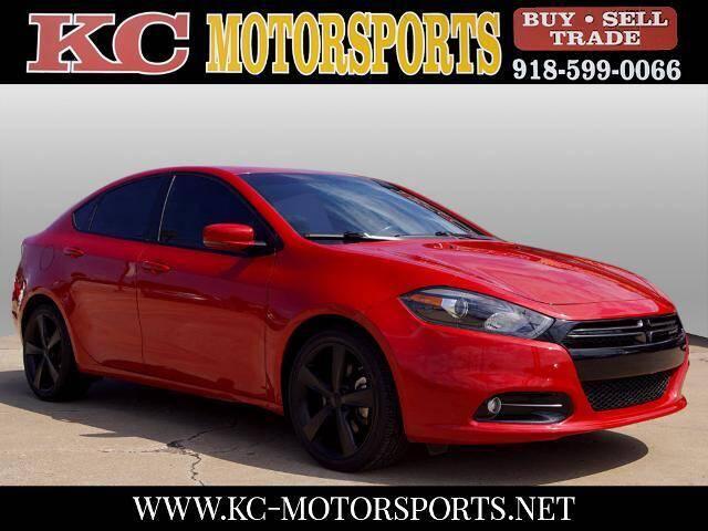 2013 Dodge Dart for sale at KC MOTORSPORTS in Tulsa OK
