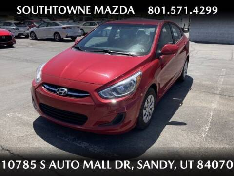 2016 Hyundai Accent for sale at Southtowne Mazda of Sandy in Sandy UT