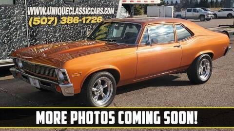 1971 Chevrolet Nova for sale at UNIQUE SPECIALTY & CLASSICS in Mankato MN