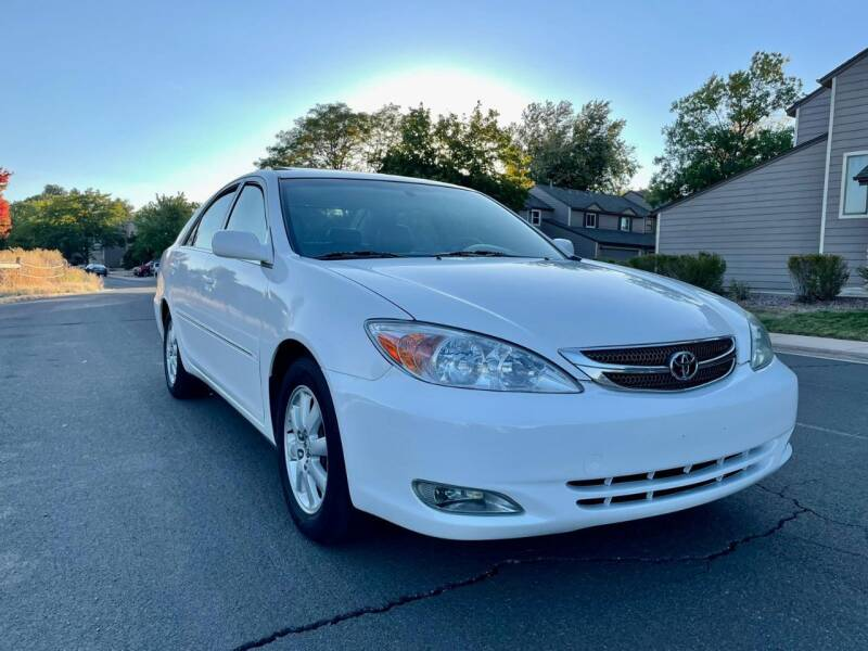 2002 Toyota Camry for sale at Red Rock's Autos in Denver CO