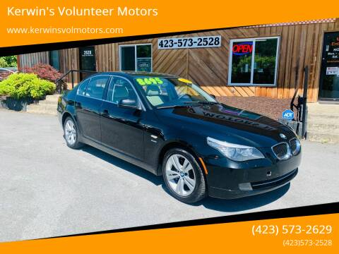 2010 BMW 5 Series for sale at Kerwin's Volunteer Motors in Bristol TN