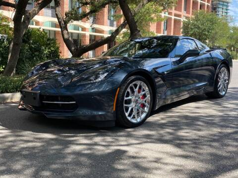 2019 Chevrolet Corvette for sale at Motorcars Group Management - Bud Johnson Motor Co in San Antonio TX