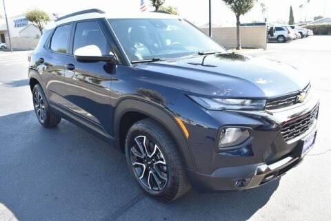 2021 Chevrolet TrailBlazer for sale at DIAMOND VALLEY HONDA in Hemet CA