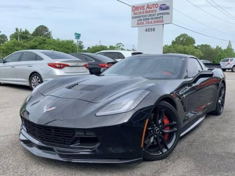 2015 Chevrolet Corvette for sale at Drive Auto Sales & Service, LLC. in North Charleston SC