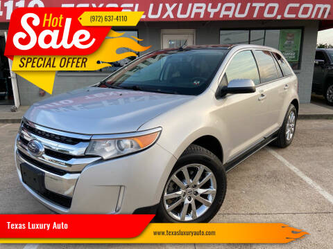 2012 Ford Edge for sale at Texas Luxury Auto in Cedar Hill TX