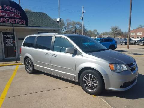 2017 Dodge Grand Caravan for sale at DICK'S MOTOR CO INC in Grand Island NE