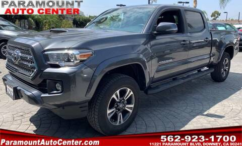 2017 Toyota Tacoma for sale at PARAMOUNT AUTO CENTER in Downey CA