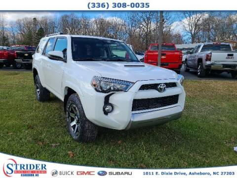 2019 Toyota 4Runner for sale at STRIDER BUICK GMC SUBARU in Asheboro NC