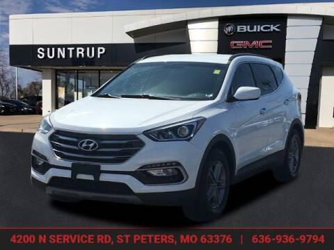 2017 Hyundai Santa Fe Sport for sale at SUNTRUP BUICK GMC in Saint Peters MO