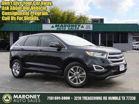2017 Ford Edge for sale at Maroney Auto Sales in Humble TX