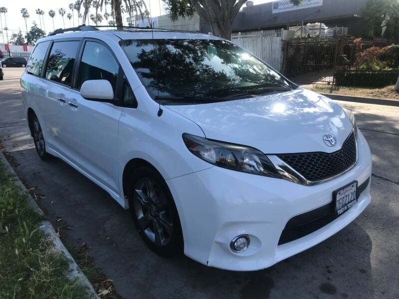 2014 Toyota Sienna for sale at Autobahn Auto Sales in Los Angeles CA