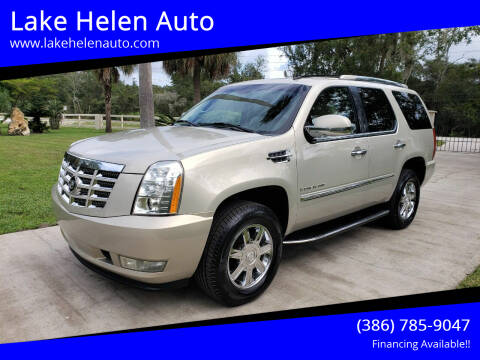 2007 Cadillac Escalade for sale at Lake Helen Auto in Lake Helen FL