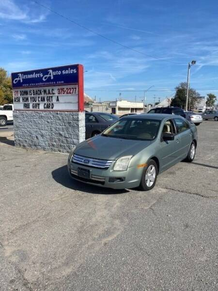 2008 Ford Fusion for sale at Alexander's Auto Sales in North Little Rock AR