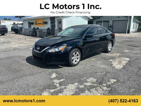 2017 Nissan Altima for sale at LC Motors 1 Inc. in Orlando FL