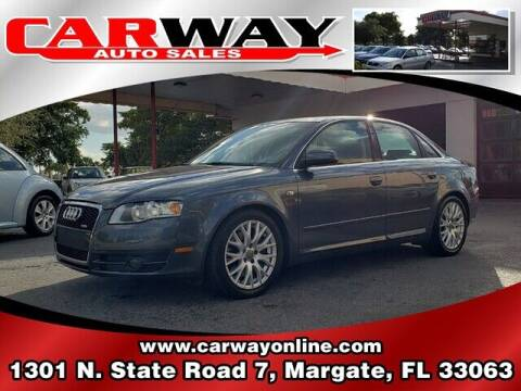 2008 Audi A4 for sale at CARWAY Auto Sales in Margate FL