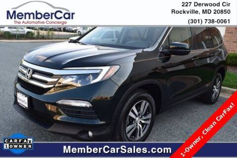 2016 Honda Pilot for sale at MemberCar in Rockville MD