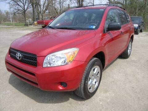 2007 Toyota RAV4 for sale at HALL OF FAME MOTORS in Rittman OH
