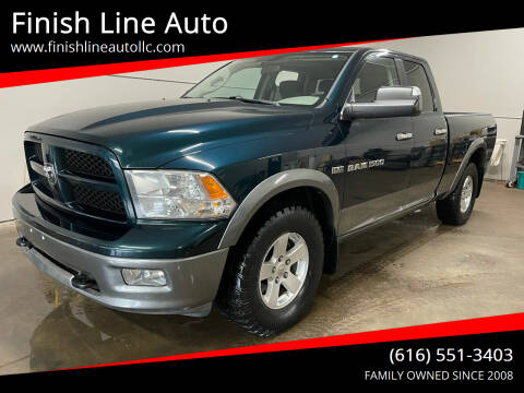 2011 RAM Ram Pickup 1500 for sale at Finish Line Auto in Comstock Park MI
