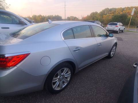 2013 Buick LaCrosse for sale at Eau Claire Auto Exchange in Elk Mound WI