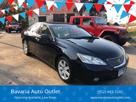2008 Lexus ES 350 for sale at Bavaria Auto Outlet in Victoria MN