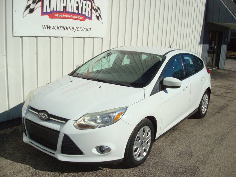 2012 Ford Focus for sale at Team Knipmeyer in Beardstown IL