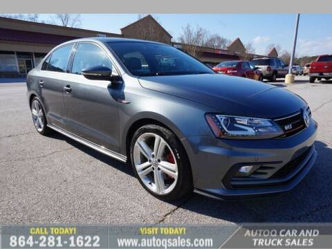 2016 Volkswagen Jetta for sale at Auto Q Car and Truck Sales in Mauldin SC
