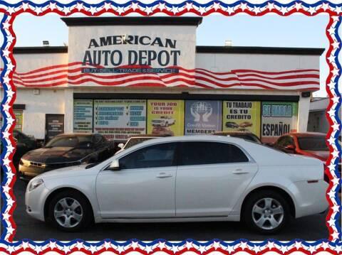 2011 Chevrolet Malibu for sale at American Auto Depot in Modesto CA