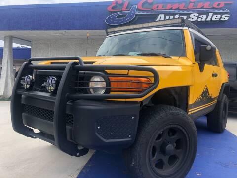 2007 Toyota FJ Cruiser for sale at El Camino Auto Sales in Gainesville GA