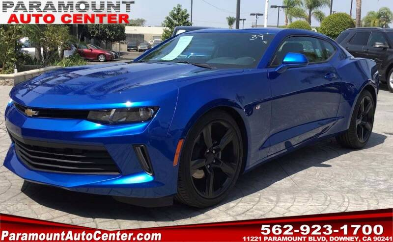 2016 Chevrolet Camaro for sale at PARAMOUNT AUTO CENTER in Downey CA