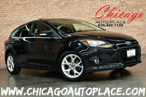 2012 Ford Focus for sale at Chicago Auto Place in Bensenville IL