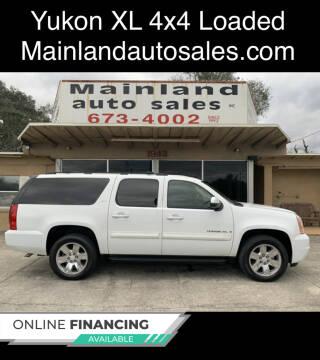 2008 GMC Yukon XL for sale at Mainland Auto Sales Inc in Daytona Beach FL