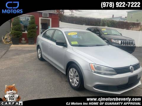 2014 Volkswagen Jetta for sale at CJ Motors Inc. in Beverly MA