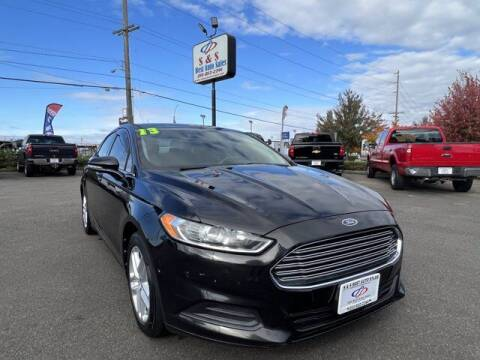 2013 Ford Fusion for sale at S&S Best Auto Sales LLC in Auburn WA