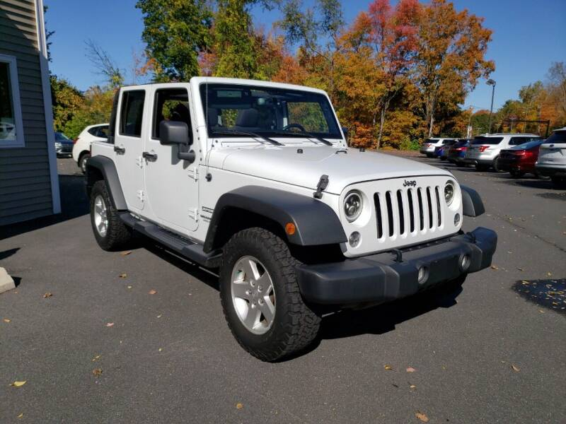 2017 Jeep Wrangler Unlimited for sale at KLC AUTO SALES in Agawam MA